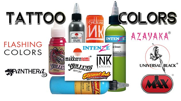 I Max distributes an exclusive range of tattoo inks used by professional tattoo artists around the world.