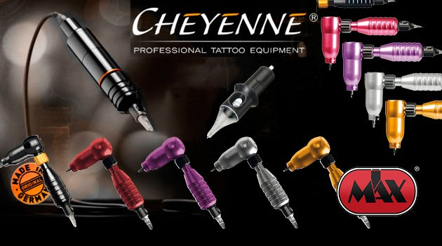 Cheyenne Professional Tattoo Equipment, and Cheyenne needles now available at IMAX Tattoo Supply.
