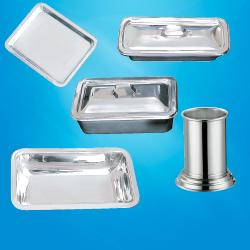 Steel Containers & Trays