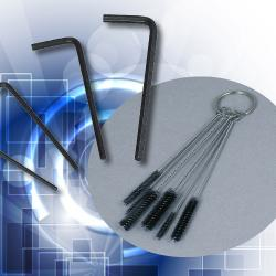 Brushes, Screws, Wrenches