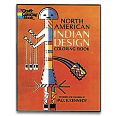 North American Indian Designs Coloring Book