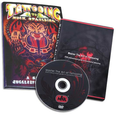 DVD Master the Art of Tattooing + Book Tattooing A to Z