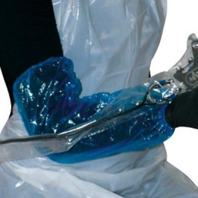 Blue PE Tattoo Protective Sleeves 100pcs.