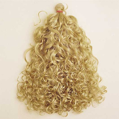 Curly Synthetic Hair with Weft