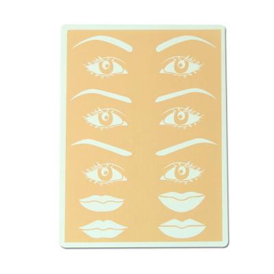 Practice Skin Eyes Eyebrows & Lips