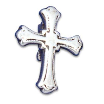 Vertical Clip-in Ornament Cross