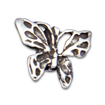 Vertical Clip-in Ornament Butterfly