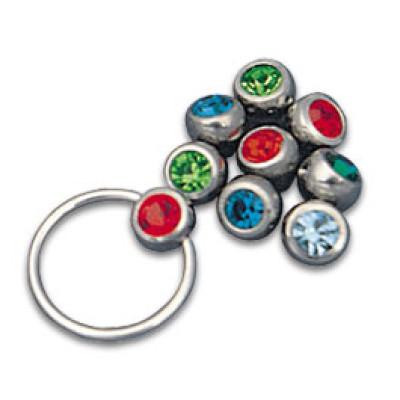 Jewelled Clip-in balls