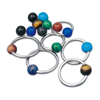 Clip-in Balls Gemstone