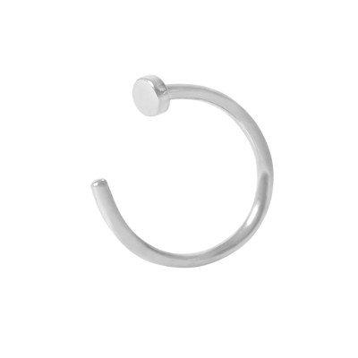 S/Steel Open Nose Rings