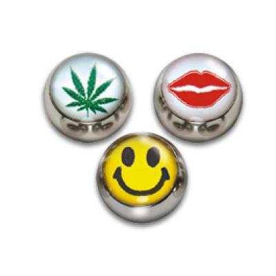 Ball 6mm Thread 1.6mm Cannabis