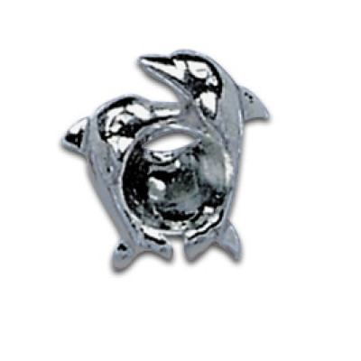 Silver Shield Jumping Dolphin