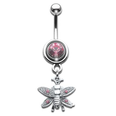 Silver Shield Wasp Rose