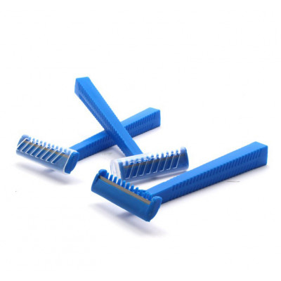 Disposable Razors with comb & protective cap 100pcs.