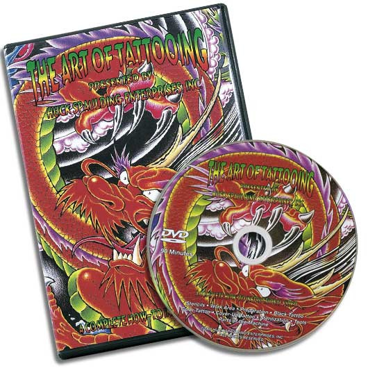 DVD The Art of Tattooing in English