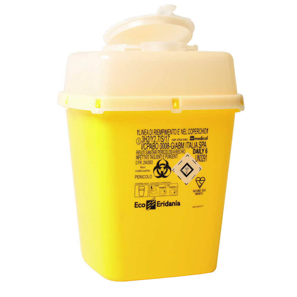 Medical Waste Collector 6L