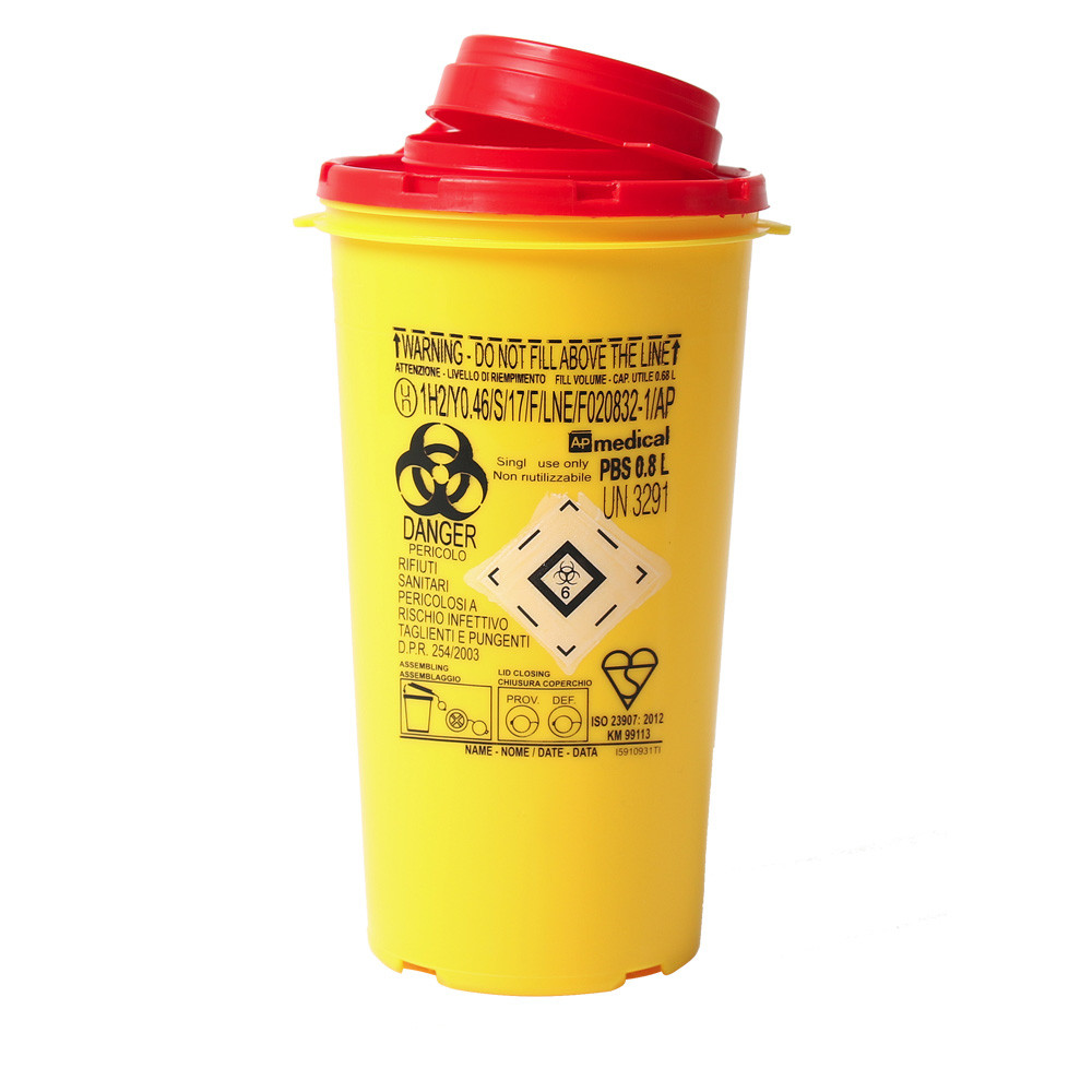 Medical Waste Collector 0.8L