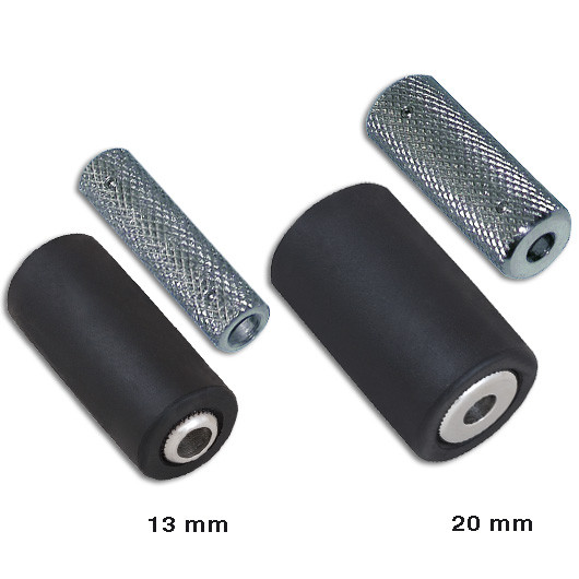 Soft Rubber Cover with S/Steel Grips Pack 10pcs.