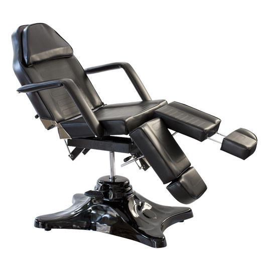 Deluxe Hydraulic Tattoo Chair Black
