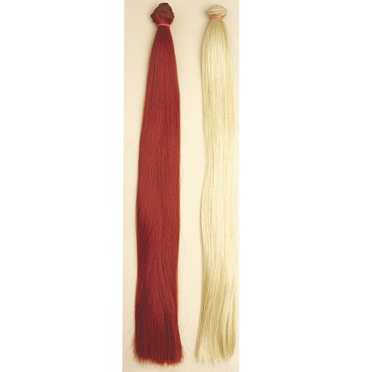 Straight Synthetic Hair with Weft