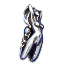 Vertical Clip-in Ornament Naked Woman