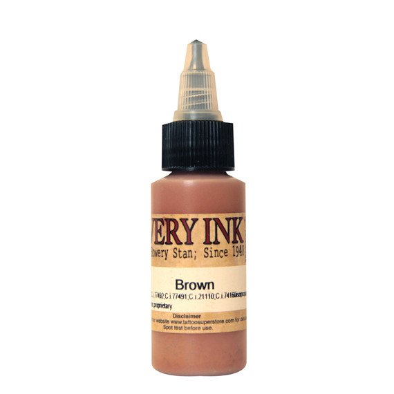 Bowery Brown 30ml Intenze Ink