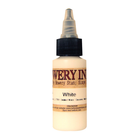 Bowery White 30ml Intenze Ink