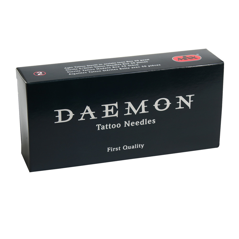 9 Flat Shader Daemon Needles 0.35 LT Box 50pcs.