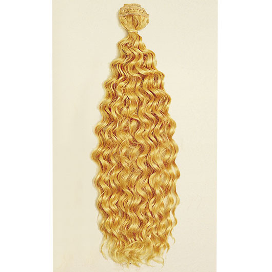 Curly Remy Human Hair 50cm Color 1B