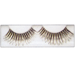 Brown & Silver Strip Lashes