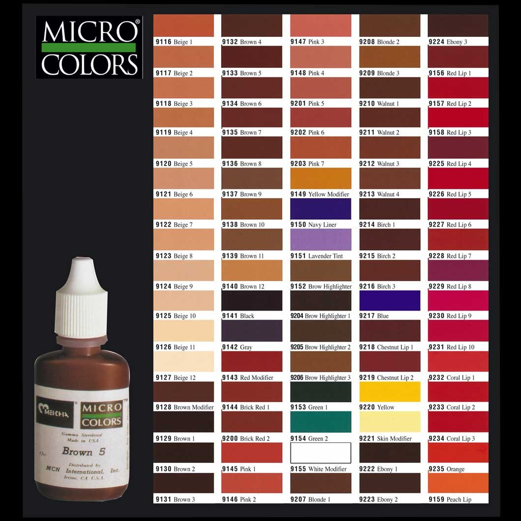 Micro Colors 12cc. Brick Red 2