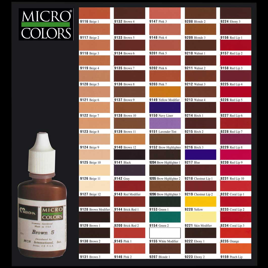 Micro Colors 12cc. Blonde 1