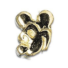 Tooth Jewellery Gold 3-D Mickey Mouse