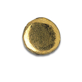 Tooth Jewellery Gold Ball Large