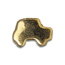 Tooth Jewellery Gold Car