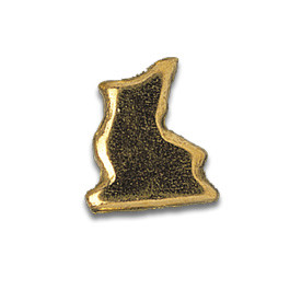 Tooth Jewellery Gold Ice Skate
