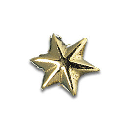 Tooth Jewellery Gold 3-D Star