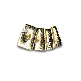 Tooth Jewellery Gold 3-D Cards