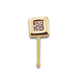 Nostril Square Thickness 0.8mm straight