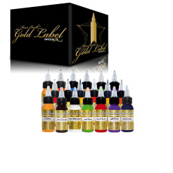 Intenze Mario Barth Gold Label Tattoo Ink Set 19x30ml