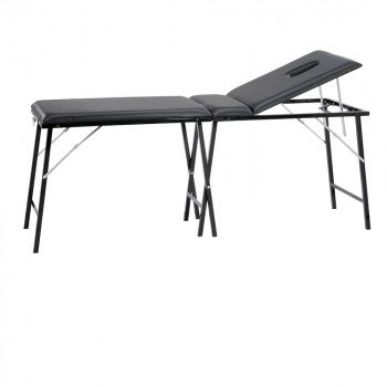 Black Foldable Tattoo Bed
