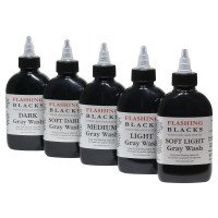 Flashing Gray Wash Pack 5x150ml