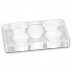 Plexiglas Cap Holder 5x15mm