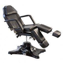 Deluxe Hydraulic Tattoo Chair Black & Accessories
