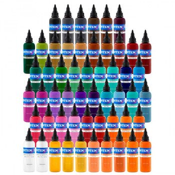 Intenze 54 Color Ink Set 54x30ml