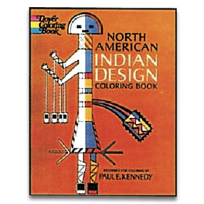 North American Indian Designs Coloring Book