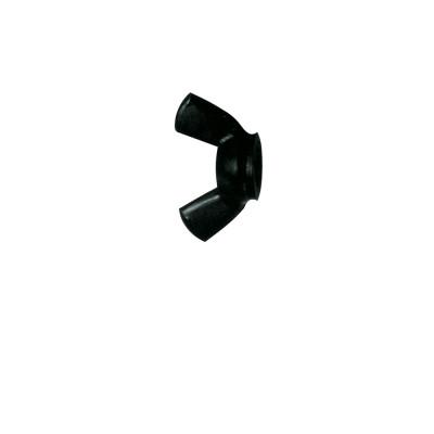Vite a Farfalla in Nylon nero 6mm 10 pezzi