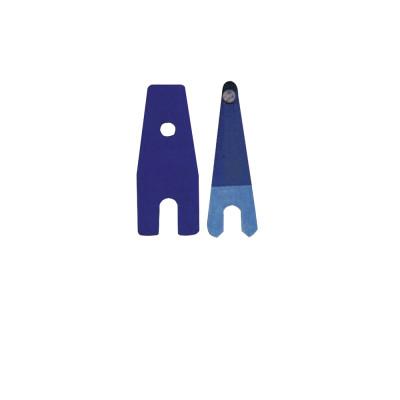 Molla Old Style blu con punta di contatto