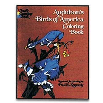 Birds of America Coloring Book