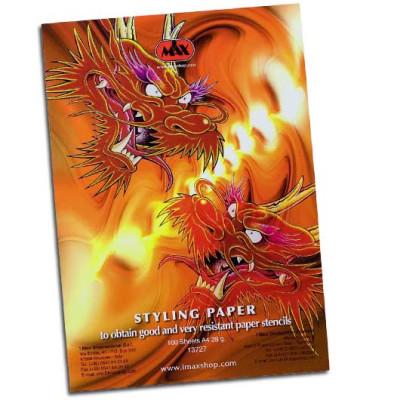 I Max Styling Paper Blocco da 100 Fogli